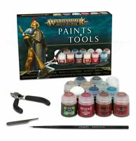 Games Workshop CITADEL - WARHAMMER AGE OF SIGMAR PAINTS + TOOLS KIT