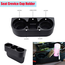 Black Plastic Card Ashtray Cup Bracket Phone Mount Holder for Car Seat Crevice