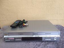 Serviced Panasonic DMR-ES30 Combo DVD VCR Video Recorder + Remote Dub VHS 2 DVD