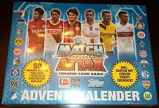 PACK of 50 SAMMELKARTEN ADVENTSKALENDER 2014-2015 TOPPS MATCH ATTAX FUSSBALL