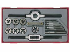 Teng Tools 17 PCE Rethreading Tap and Die Set TTTD17