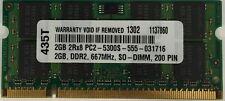 2GB DDR2 MEMORY FOR  Dell Precision Mobile Workstation M6300
