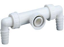 """Dallmer Waschgeräte-Doppelanschluss 1"""" Unterputz Siphon Sifon HL400 Wandeinbau"""