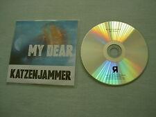 KATZENJAMMER My Dear promo CD single