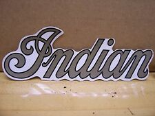 2 NOS Vintage Indian Motorcycle Gas Tank Stickers Chief Scout Dirtbike ME ML