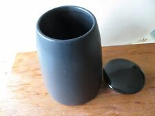 ETHOS pottery Storage Jar with lid -**REDUCED**