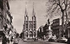 MARSEILLE 1005 église saint-vincent de paul. les réformés voitures timbrée 1959