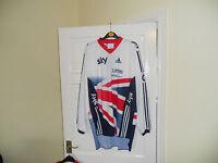 Team GB SKY cycling bike jersey Adidas shirt top