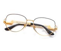 Vintage Hilton PARKLANE 110 C3 Square Unisex 22kt Gold Plated Eyeglasses Frame