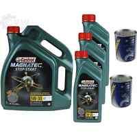 8L Olio Motore Castrol Magnatec Stop-Start 5W-30 C2 2xMotor Doctor