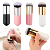 Best Flat Makeup Brush Foundation Face Blush Powder Contour Kabuki Cosmetic Tool