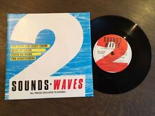 "SOUNDS WAVES 2 UK 7"" VINYL EP EX/NM Jesus & Mary Chain Faith No More Godfathers"