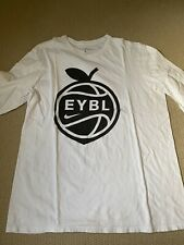 New Nike EYBL Peach Jam Long Sleeve T Shirt Large L Player Team Issue
