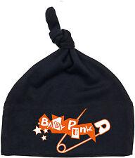Baby punk nodos individuales bebé gorra negra