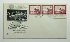 1951 FDC United Nations First Day of Issue New York Postmark Artcraft Cachet 1c