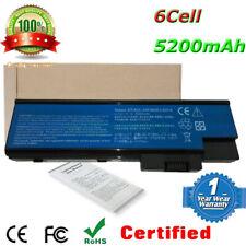 6Cell Batterie For Acer Aspire 7111WSMi 7112WSMi 9402WSMi 9404WSMi 9410 Series