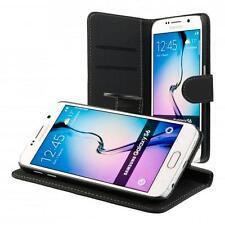 Samsung GALAXY s6/s6 DUOS Book-Style Custodia Per Cellulare Nero FLIP CASE COVER ASTUCCIO