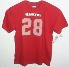 NWT NFL Team Apparel Soft Comfortable Fit & Feel 49ers Hyde #28 Size XXL