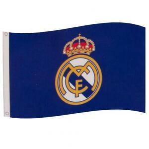 Official REAL MADRID FC Flag  5ft x 3ft