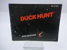 Anleitung - Handbuch - Bedienungsanleitung NES - Duck Hunt
