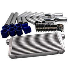 "3"" INCH 76mm Universal Intercooler Piping pipe Kit & 600x300x76mm Intercooler"