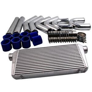 "3"" INCH 76mm Universal Intercooler Piping pipe Kit & 600x300x76mm Intercooler"