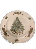 "Johnson Brothers Victorian Christmas 10 1/4"" dinner plate Staffordshire England"