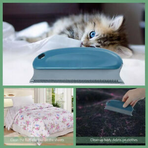 Pet Hair Brush Reusable Carpet Remover Sofa Clothes Lint Cleaning Dog Cat Toy UK