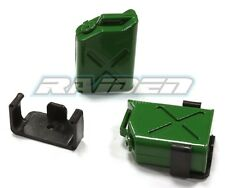 1/10 Plastic Oil Tank Scx10 90027 90028 Wraith 90031 Cc01 Rc4Wd Crawler Green