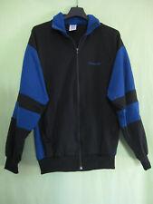 Veste Adidas 90'S noire et bleu Fabriquée en Bulgarie Vintage Jacket - 168 / S