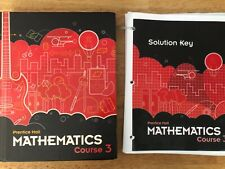 Middle Grades Math 2010 Student Edition Course 3 solution key included