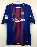 FC BARCELONA 20172018 HOME FOOTBALL JERSEY CAMISETA SOCCER SHIRT MAILLOT TRIKOT