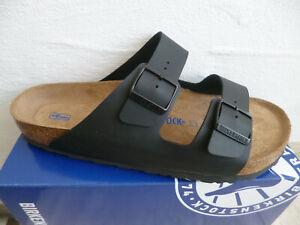 Birkenstock Arizona Mules Sandal Slippers Black 551251 New