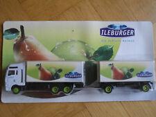 Ileburger Truck MAN HZ   in 1:87 Birne Apfel