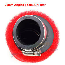 38mm Angled Foam Air Filter For 110cc 125cc CRF50 CRF70 KLX Dirt PitBike