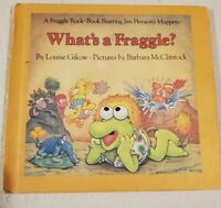 What's A Fraggle? Jim Henson's Muppets Weekly Reader Book 1984 Vintage TV Show