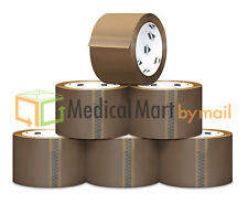 Browntan Packaging Tape 2 X 110 Yards 330 Feet Choose Your Mil Amp Rolls