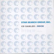 Star Search Group CD Sampler: Rock (CD) MIDEM 2006/18 Rock Acts/Lovetones...