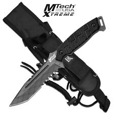 COLTELLO OUTDOOR  SURVIVAL MTECH XTREME 8137BK  FULL TANG  ★ CONSEGNA 24-48 ORE