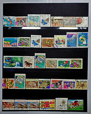 HIGH VALUE AUSTRALIA POSTAGE DECIMAL STAMPS USED MIXTURE BUILK PAGE OFF PAPER