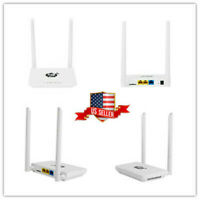 Wireless Internet 4G LTE Home Base Mobile WiFi Router Hotspot 300Mbps SIM Card