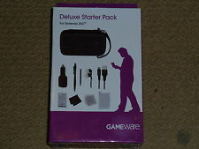 NINTENDO 3DS PACK BRAND NEW! GAME CASES STYLUS SCREEN PROTECTOR EAR BUDS USB CAR
