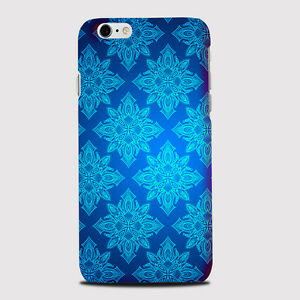 Blue Flower Design Phone Case Cover