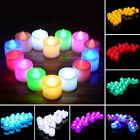 24 Flickering Light Flameless Battery LED Tealight Tea Candles Wedding Christmas