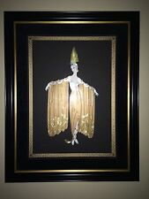 ERTE ORIGINAL FRAMED SERIGRAPH LIMITED EDITION SIGNED & NUMBERED - COA