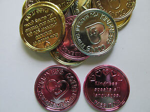 144 KINDNESS COINS good character coin recognition achievement eductional