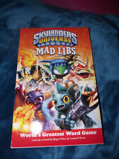 BRAND NEW Book Skylanders Universe : Skylanders Universe Mad Libs
