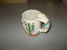 Unique handcrafted Santa Fe New Mexico souvenir decorative coffee cup mug