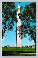 The Washington Monument, Chrome Washington DC c1962 Postcard
