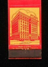 1930s? Mount Royal Hotel Room Rates Baltimore MD Matchbook Maryland